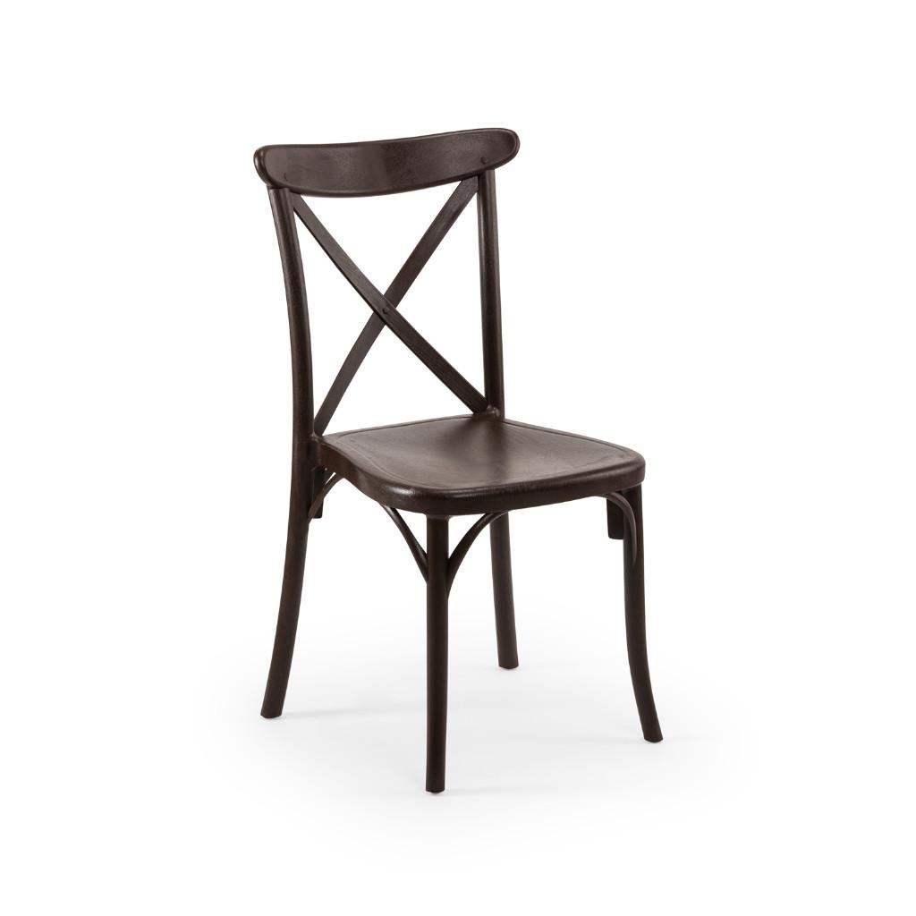 X hátú szék wenge bérlés